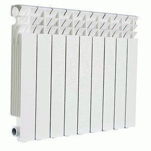 Объем теплоносителя в секции радиатора