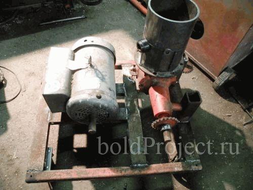 Производство пеллет оборудование своими руками фото 856