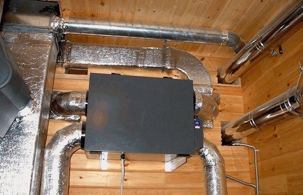 Воздушное отопление дома — эффективные методики подвода и монтажа воздушного отопления своими руками (95 фото)
